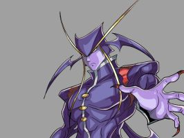 Jedah quick drawing by TheInsaneDarkOne