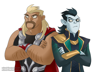 We're brothers. Seriously. by Mistrel-Fox