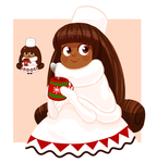 Cocoa Cookie - Cookie Run by CubedCake