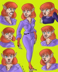 Drawing Request: Daphne Blake Werewolf by AvengerBlackwidow