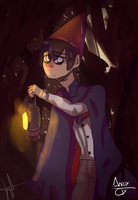 Over the Garden Wall - Speed Paint by andy-cly