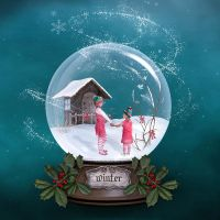 Somewhere in a glass snowball by Fran-photo