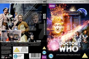 Doctor Who Spearhead from Space custom DVD cover by GrantBattersby