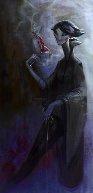 Vampire Lady by ANeDe