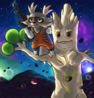 Guardians of the Pokemon galaxy.
