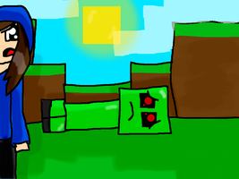 Danny and a Creeper! [STUPID] by RubytheCat12