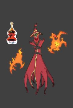 KH Heartless Redesign the Red Caster by Shaun-K