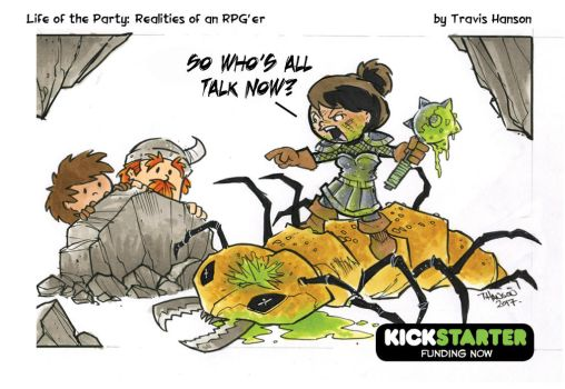 Bug Killer- RPG Comic by travisJhanson