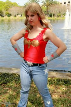 Wonder Girl - 4 by maskedbunny