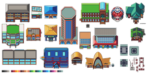 Pokemon Ultra Sun and Moon - Melemele Island Tiles by morlockhater