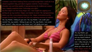 Megan Fox and the Portable Mind-Washing Device! by HypnoHunter