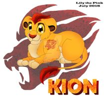 Kion  - Chibi Style -  July 2018 by Lily-the-pink