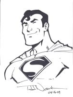 Superman by Todd Nauck by ComicBookArtFiend
