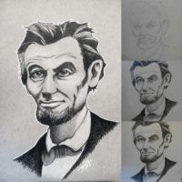Abe Lincoln by neraksel