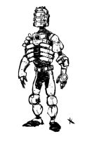 Dead space- Engineer sketch by TimKelly