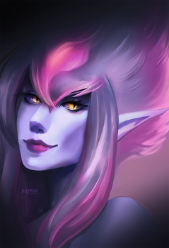 Evelynn 2 by jellophish