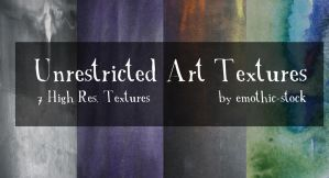 Unrestricted Art Textures by emothic-stock