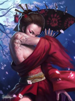 geisha by 879258