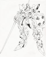 Lancer mecha by blackswordsman28
