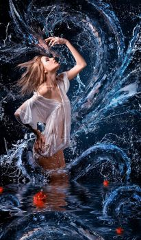 Water Dragon by Nataly1st