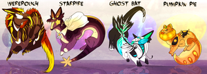 Halloween Ploocher adopts by Pirate-Reaper
