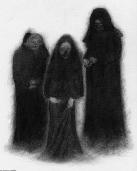 Specters of the Darkness Beneath by Pyramiddhead