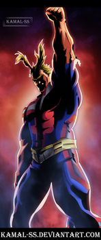 Boku no hero acadimia All Might  by kamal-SS