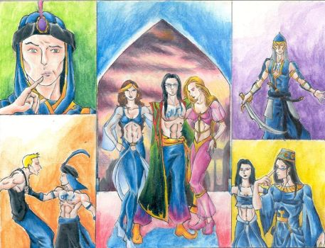 Assan the Prince of Iran by Persians