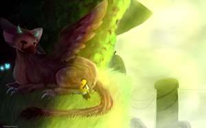 A Nice Nap~The Last Guardian by MadDaDog