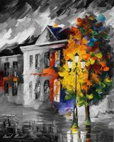 LYRICAL HOUSE  Limited edition giclee by Leonidafremov