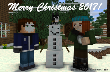 [MC:SM] Merry Christmas 2017! (Contest Entry) by fighter33000