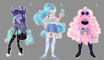 humanoid adoptables AUCTION! OPEN - paypal - by LuckyCat99
