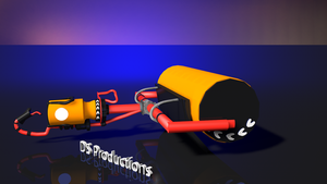 Carbon Roller | Splatoon (Remodeled) by DS-Productions2