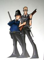 hot fuzz by MatthewFletcher720