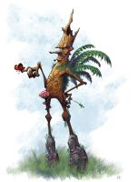 Tree Ent Character by Hominids