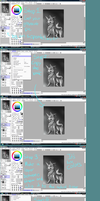 Greyscale Coloring Tutorial by SpytDragonFyre
