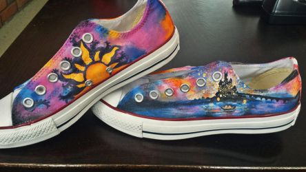 9c970e2512b UmiKumo 3 0 Converse inspired by Disney s Tangled by piscura