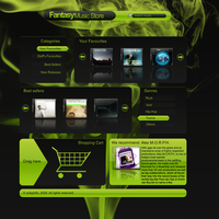 Fantasy Music Store by subgrafix