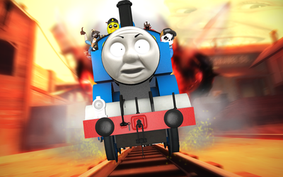 All Aboard the Amazing Train by Nictrain123