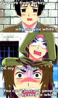 Why are you white? by katt2015
