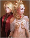 Geoffroy and Eden by omupied