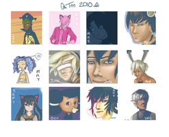 Tinier me year summary by Spirited-Violet