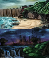 BAK - Enviroment Studies by Jane2Audron