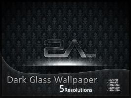 +MOD+  Dark Glass Wallpaper by VicK88