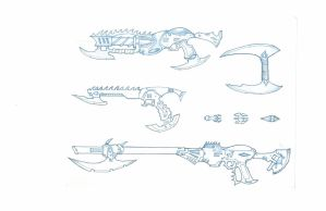 Dark Eldar Weapons by carlos1170