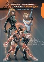 Code ORANGE cover by J-Scott-Campbell