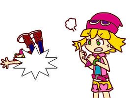 WTF?! My Amitie In Should The Fart!?! by ramza3946