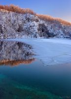 Plitvice NP - Sunset by AndreasResch