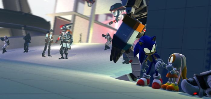 Please be Careful, Mr. Sonic by Pichulover20