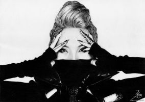 2NE1 Project 1/4 - CL by SongYong